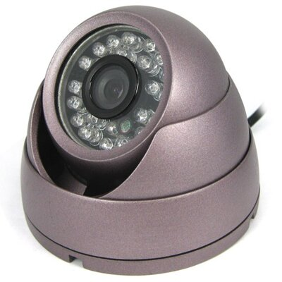 "Dome kamera s IR LED 1/3"" Sharp, 420 TVL"