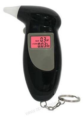 Alkoholtester s LCD