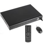 DVR videorekordér H.264, 8x video, 8x audio